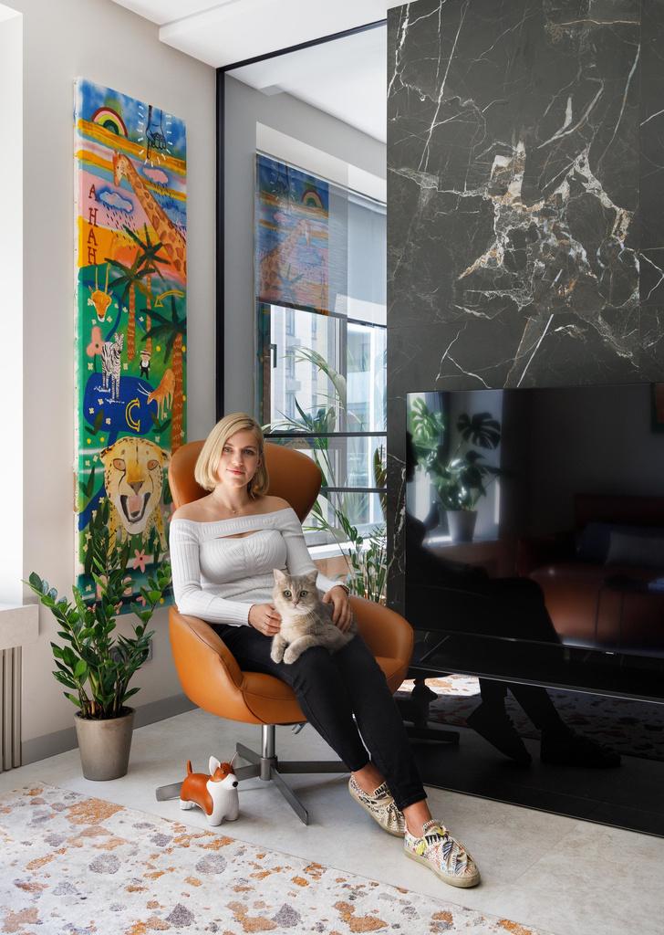 Фото №1 - ELLE DECORATION в гостях у архитектора Ирины Чернейкиной (бонус: видеоэкскурсия)