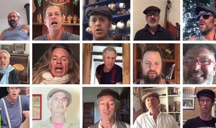Фото №1 - Мужской хор из Австралии поет «На поле танки грохотали…» на русском (видео)