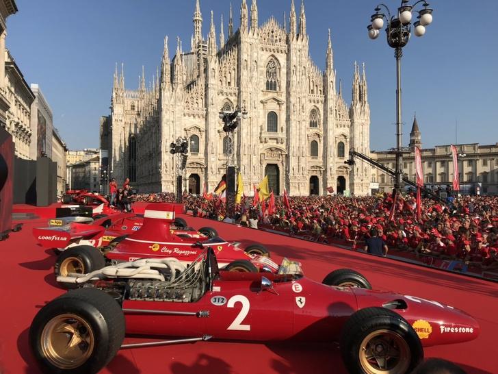 Легендарные гоночные Ferrari прошлых лет добывали победы с посильной помощью моторных масел Shell