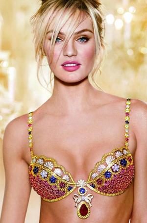 Фото №37 - Полцарства за бюстгальтер: как выглядят все драгоценные Fantasy Bra Victoria's Secret