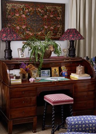 Фото №6 - Дом текстильного дизайнера Натали Фарман-Фармы в Лондоне