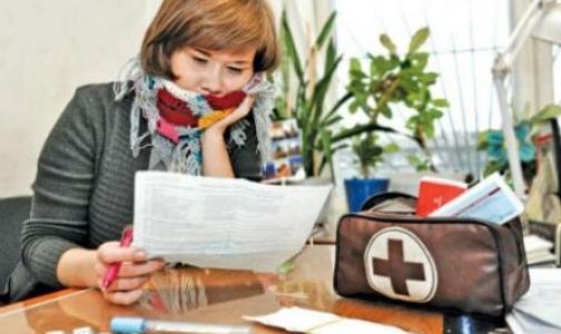 Фото №1 - Почему петербуржцы не хотят обращаться к врачу и переносят ОРВИ «на ногах»