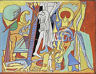 Фото №14 - Другое измерение: 8 секретов «Авиньонских девиц» Пикассо