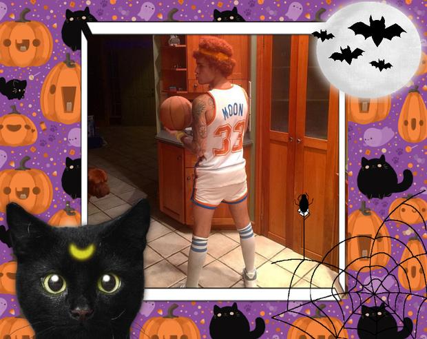 Фото №8 - Лучшие костюмы звезд с прошедшего Хэллоуина