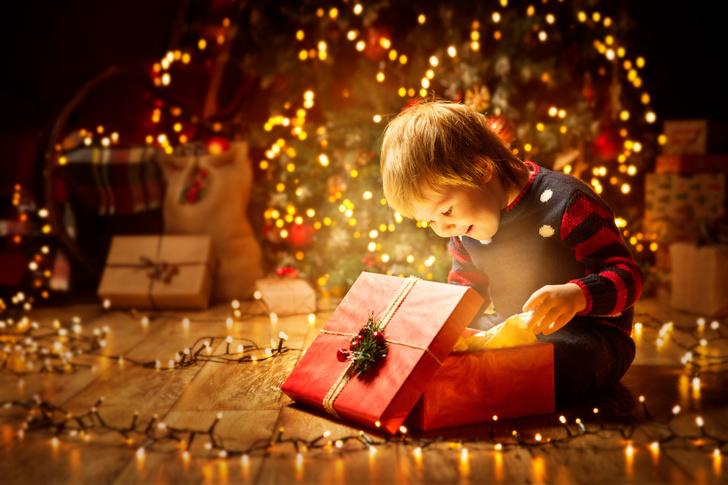 Как поздравить ребенка с новым годом оригинально