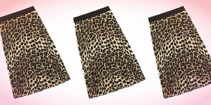 Фото №2 - Дорого-дешево: леопардовая юбка