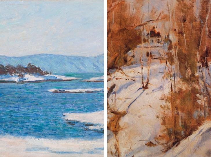 Фото №1 - В ожидании снега: самые красивые зимние пейзажи с полотен великих художников