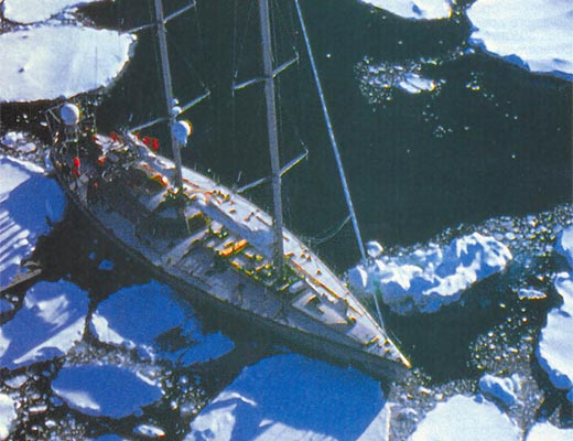 Фото №1 - Горячее дыхание Антарктиды
