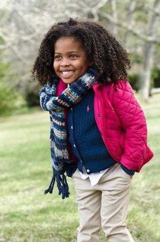 Фото №14 - В школу в поло: детский лукбук осенней коллекции Polo Ralph Lauren