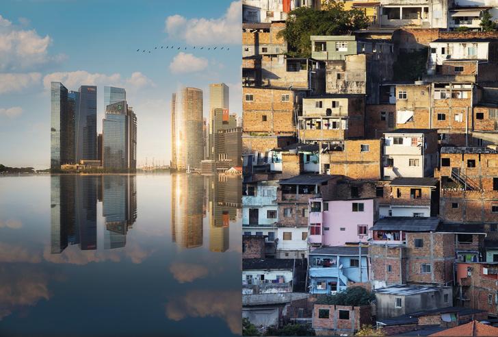 Фото №1 - Карта: страны первого, второго и третьего мира. Угадай, где мы?