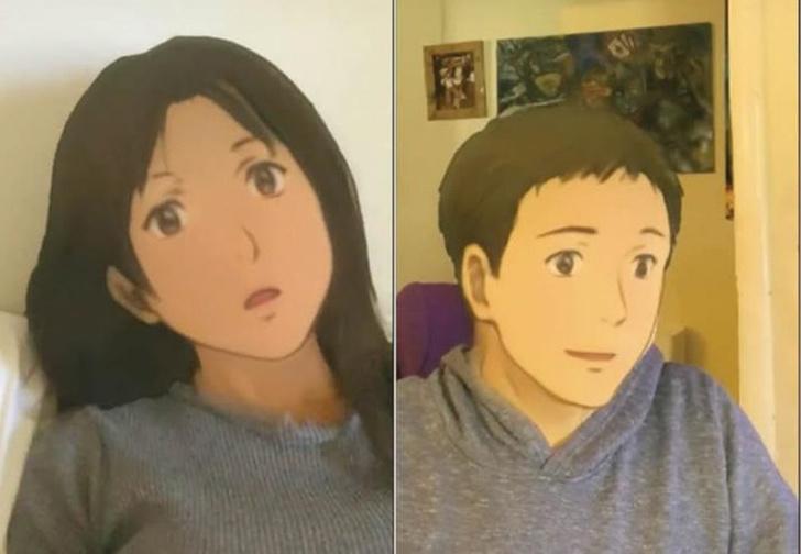 Фото №1 - Новый фильтр для соцсетей: посмотри, как ты будешь выглядеть в образе героя аниме