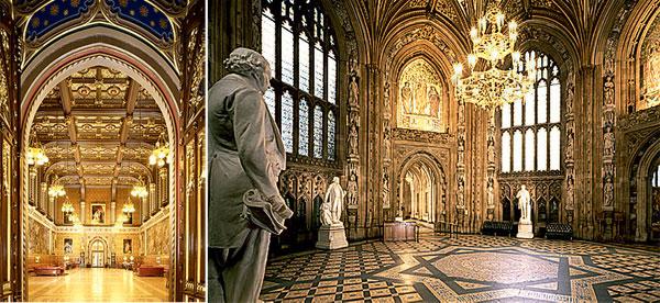 Фото №4 - Дворец парламента Великобритании в деталях