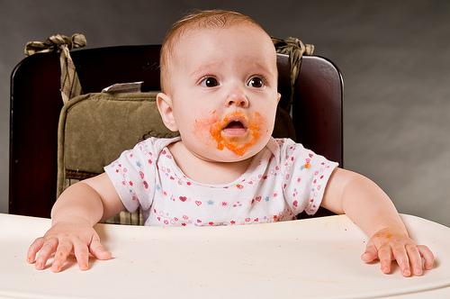 Фото №1 - Игры с едой полезны для развития детей