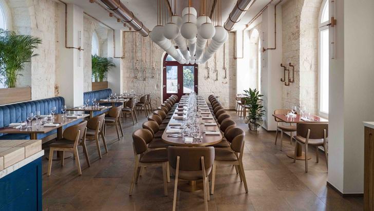 Фото №1 - Ресторан на месте старой электростанции в Италии