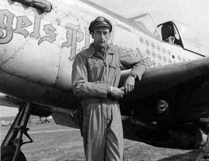 Фото №2 - Невероятная история побега американского пилота Брюса Карра из немецкого тыла на немецком истребителе