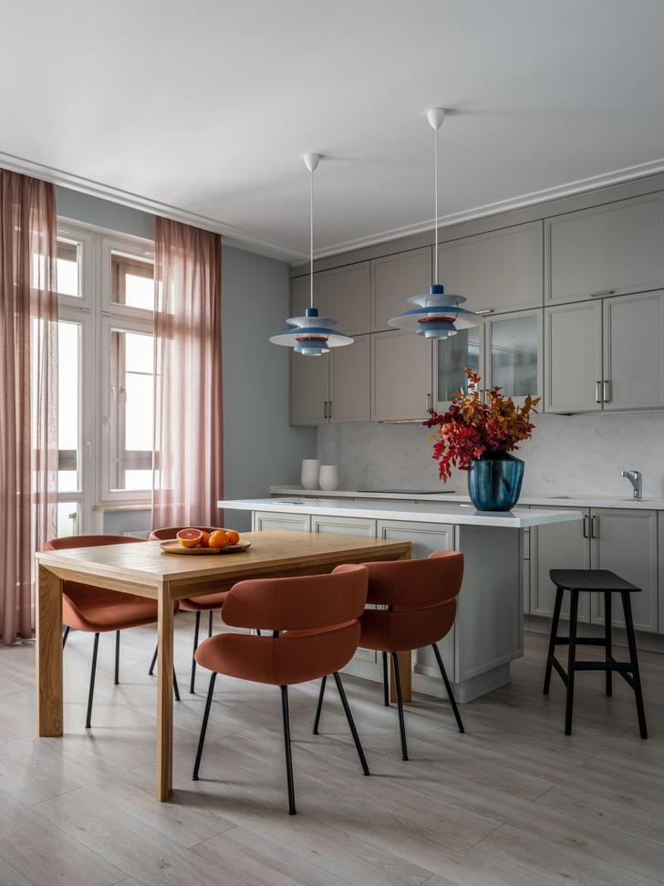 Фото №6 - Квартира 100 м² в оттенках зелени, моря, песка и заката