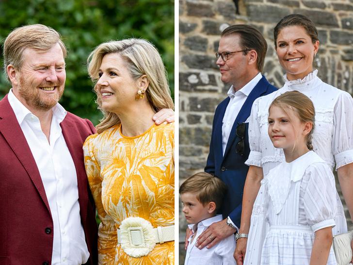 Фото №1 - Самые теплые кадры: королевские семьи Европы поделились традиционными летними фотосессиями