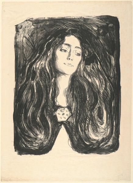 Фото №8 - «Женщина в ее тотальной изменчивости — это загадка для мужчины»: история художника Эдварда Мунка, который так и не встретил свою единственную