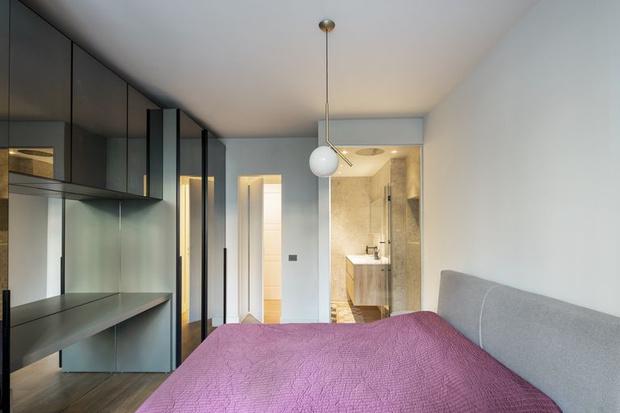 Фото №6 - Маленькая квартира с камином в центре Милана