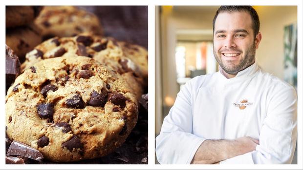 Фото №1 - За шесть минут: рецепт печенья с шоколадной крошкой от чемпиона мира по кондитерскому искусству
