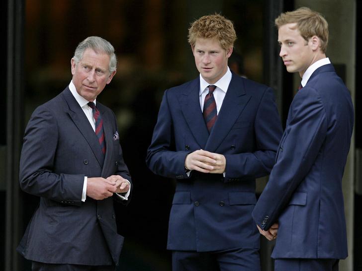 Фото №2 - Дети своих родителей: на кого больше похожи Уильям и Гарри— на Чарльза или Диану
