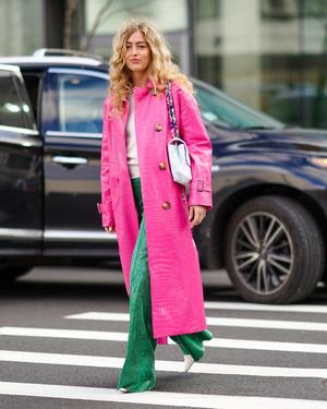 Фото №32 - Как носить ярко-зеленый цвет— самый модный в этом сезоне
