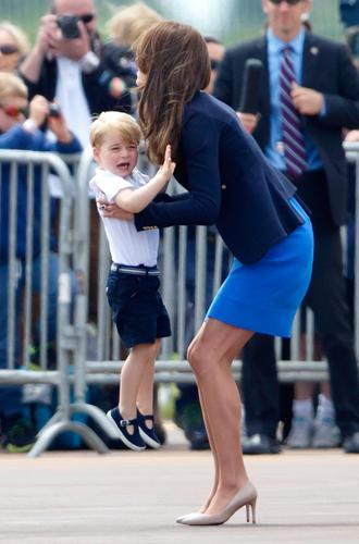 Фото №7 - Юные бунтари: принц Джордж и принцесса Шарлотта уже не соблюдают протокол
