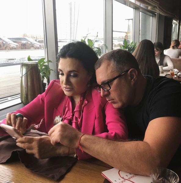 Ирина Винер с сыном Антоном