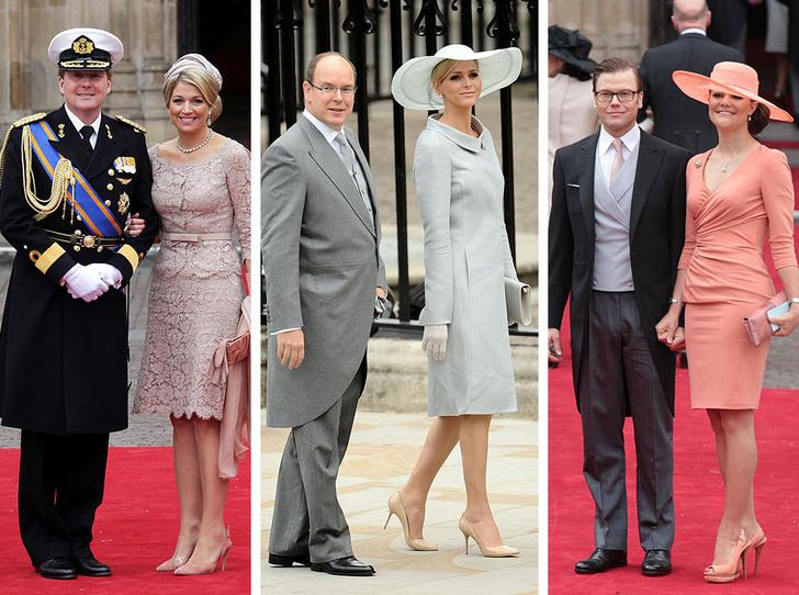 Фото №1 - Принцы, королевы, султаны: как выглядели монаршие гости свадьбы Кейт и Уильяма