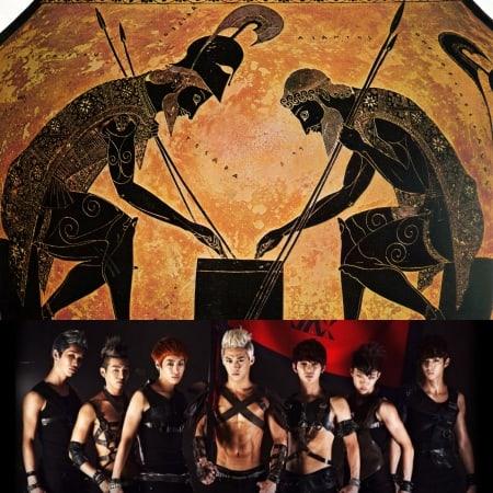 Фото №4 - Глубокомысленный k-pop: 10 случаев, когда айдолы заимствовали образы из мифов Древней Греции