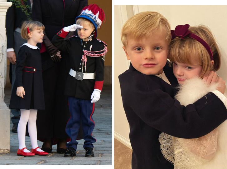 Фото №1 - Принц Жак и принцесса Габриэлла: шестой год в фотографиях