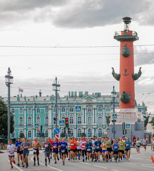 Фото №1 - В Санкт-Петербурге прошел полумарафон