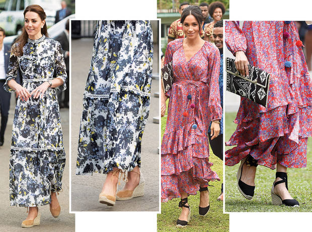 Фото №1 - Королевский выбор: где искать эспадрильи, как у Меган, Кейт и Леди Амелии Виндзор
