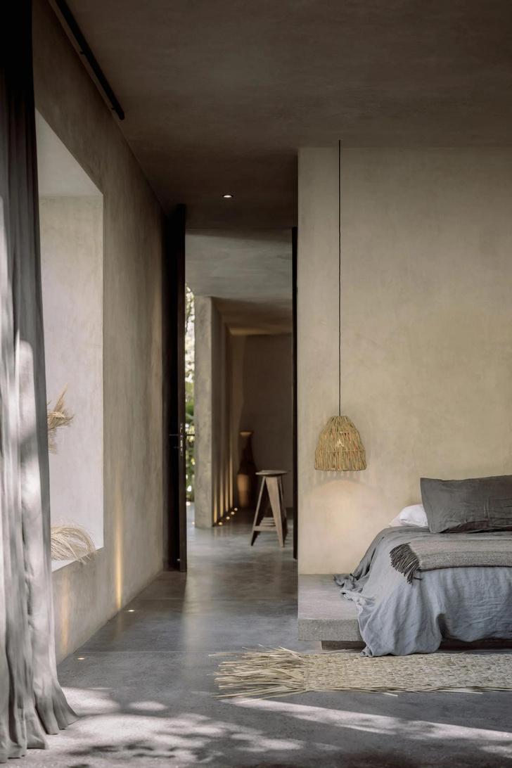 Фото №12 - Бруталистская бетонная вилла в джунглях Тулума
