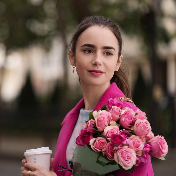 Фото №2 - «Эмили в Париже»: самые красивые макияжи и укладки из сериала
