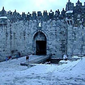 Фото №1 - Снег на Ближнем Востоке
