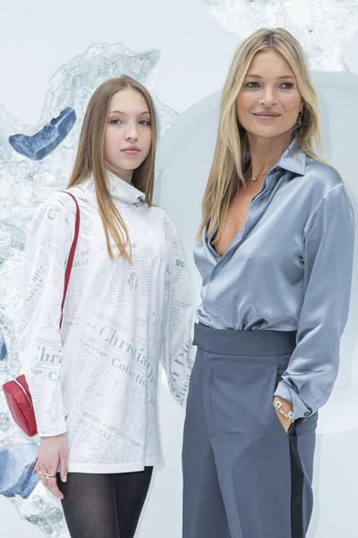 Дочь Кейт Мосс, Лила Мосс, Кейт Мосс с дочерь., модели