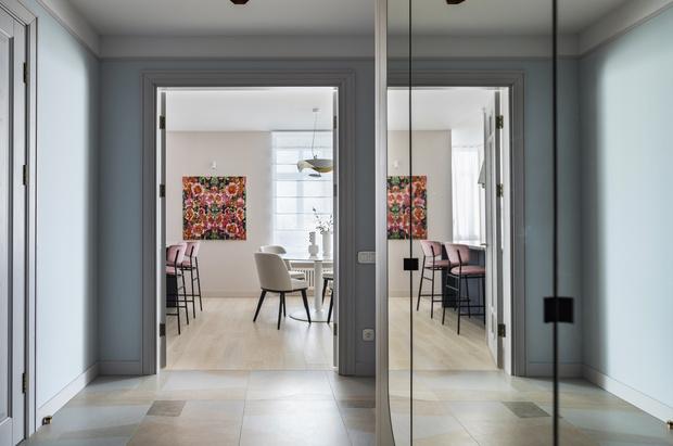 Фото №12 - Киевская квартира 82 м² в пастельных тонах