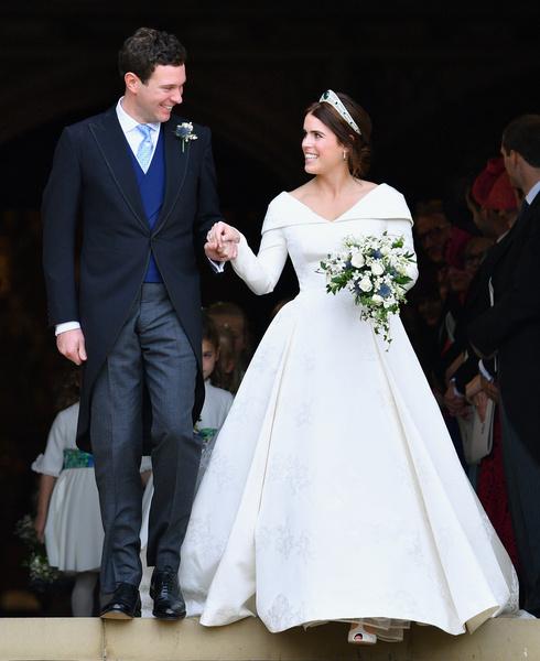 <p>Джек Бруксбэнк и принцесса Евгения</p>