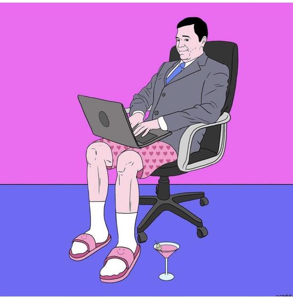 Фото №1 - Ты же леди: как правильно вести себя на онлайн-уроках