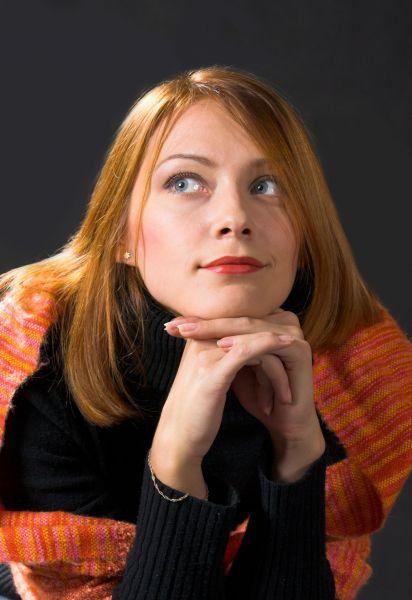 Анна Зыкова - красноярская актриса