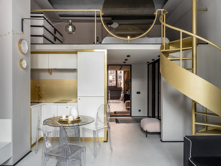 Фото №2 - Двухуровневая квартира 41 м² в Москве