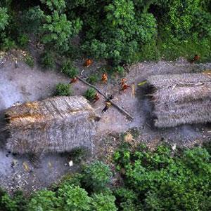 Фото №1 - Неизвестное племя Амазонии