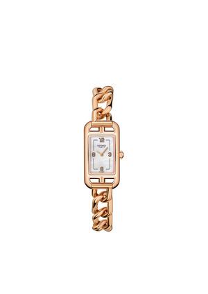 Фото №2 - Прочная связь: часы Hermès Nantucket с браслетом-цепочкой