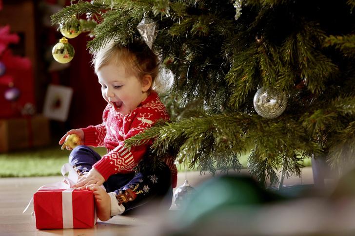 Игры под елкой для детей
