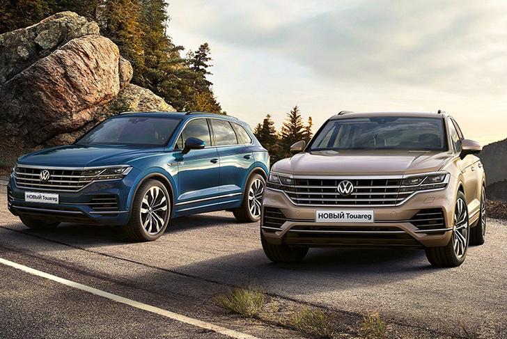 Фото №1 - Volkswagen Touareg: преодолевая зиму