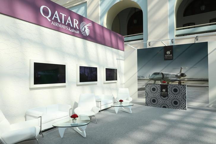 Фото №1 - Qatar Airways празднует Перекрестный год культуры Катара и России 2018
