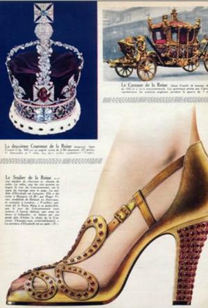 Фото №4 - Рискованный выбор: секрет коронационных туфель Елизаветы II