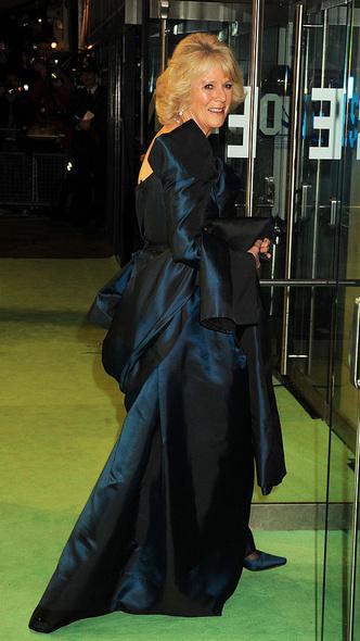 Фото №15 - Как королевские особы одеваются на кинопремьеры: самые роскошные выходы, которые вошли в историю