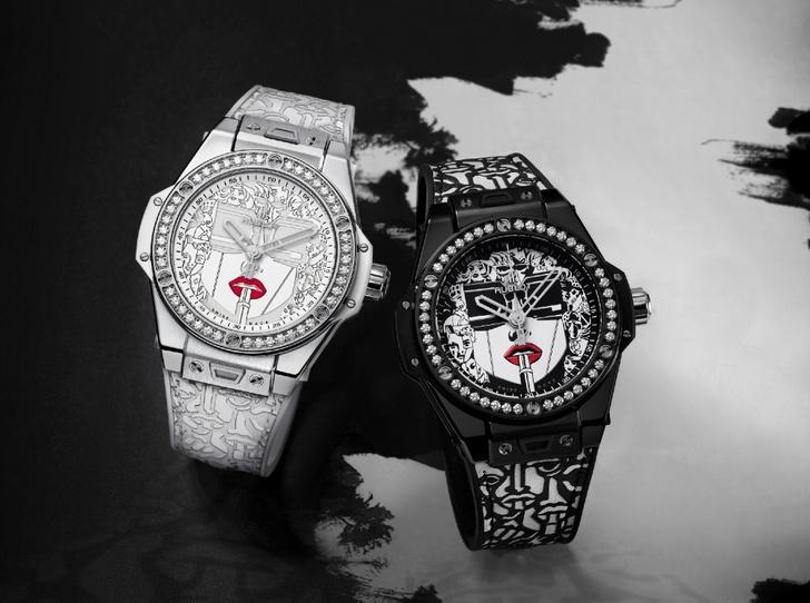 Фото №1 - Черное и белое: Hublot представили новинку Big Bang One Click Marc Ferrero